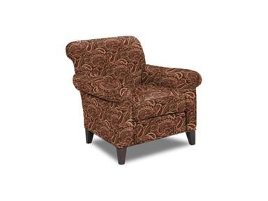 Craftmaster Chair, 099510, At Schmitt Furniture Company In New Albany, IN.