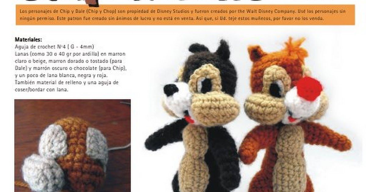 chipydale_crochet_esp.pdf | amigurumis | Pinterest | Patrones ...