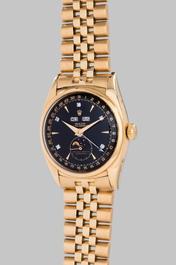 Rare Rolex Watch Breaks World Record