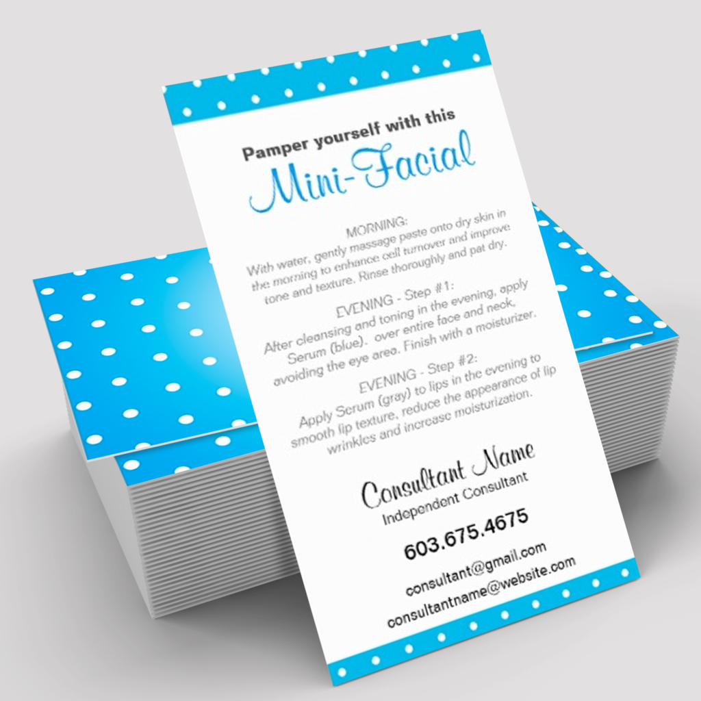 business-card-template-mini-facial-rodan-fields-itwvisions-02 | R+F ...