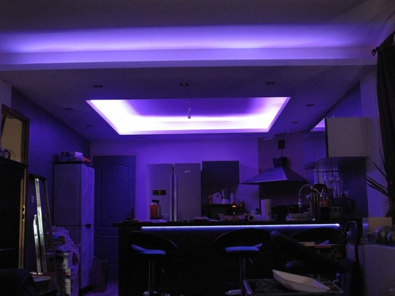 plafond placo lumiere indirecte recherche google. Black Bedroom Furniture Sets. Home Design Ideas