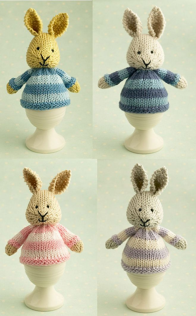 Free Last Minute Easter Knitting Patterns #knittingpatternstoys