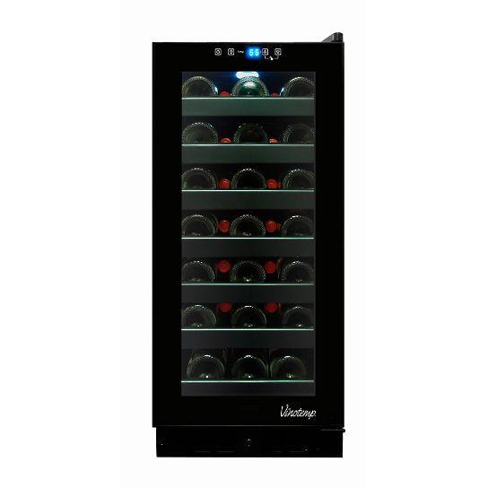 33-Bottle Touch Screen Wine Refrigerator