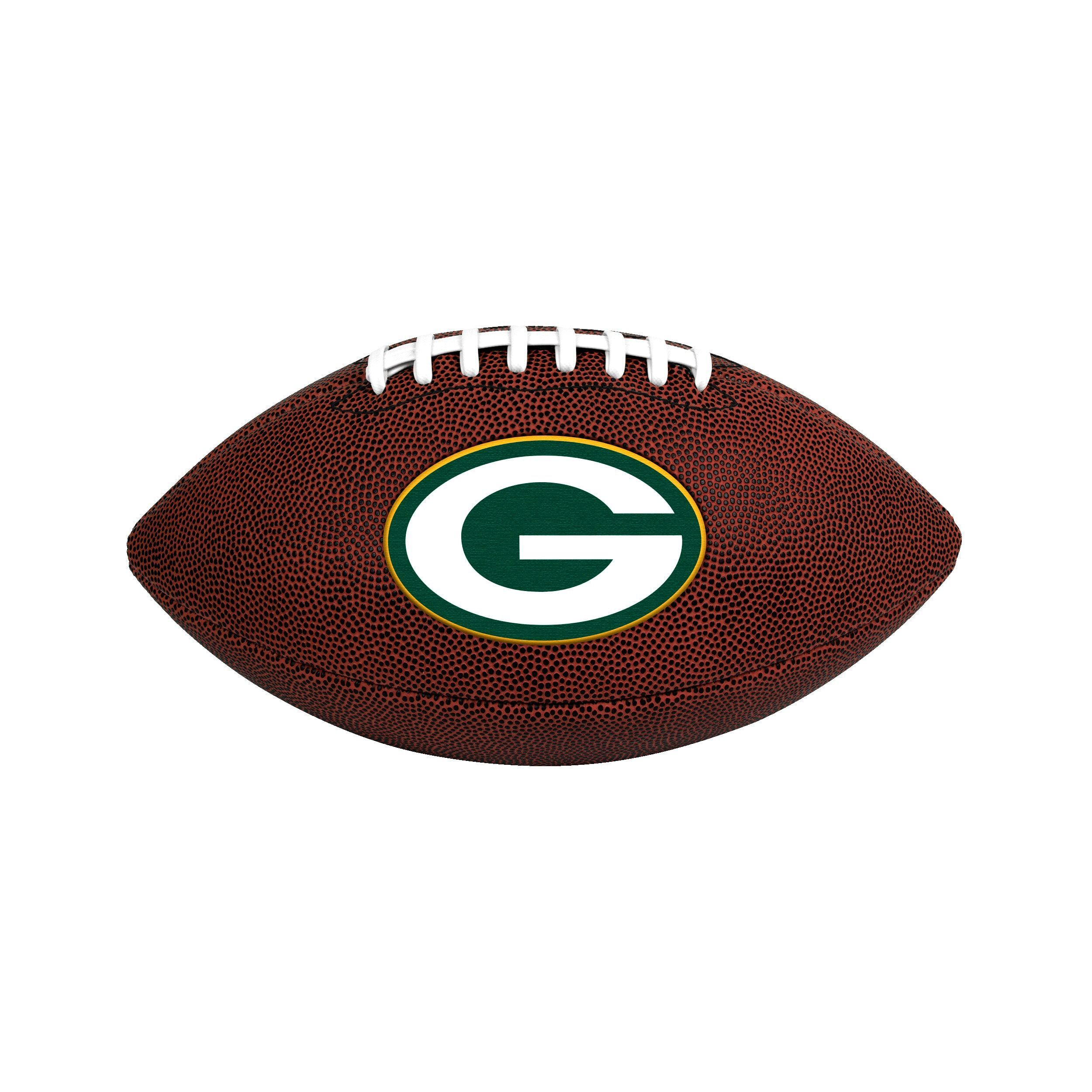 Jarden Bay Packers NFL Official Size Game Time Football  99fe0bffadc