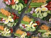 Vicki Thornton from Coppell ISD Child Nutrition sent these lovely Chef Salads #c... #childnutrition