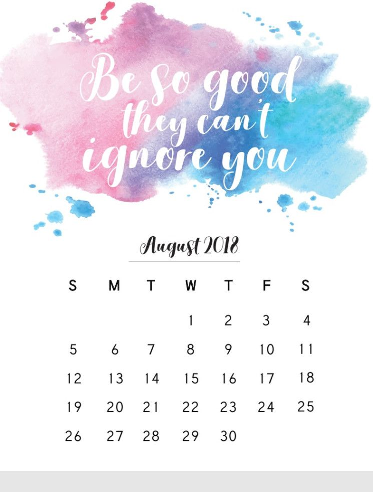 Calendar Wallpaper Quotes : August calendar with quotes