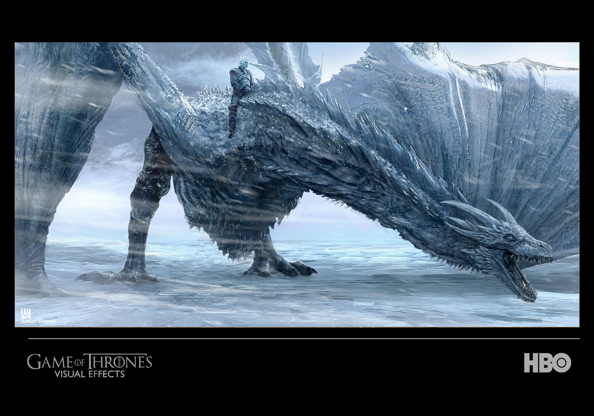 Last Year I Was Approached By Got Vfx Supervisors Joe Bauer And Steve Kullback To Provide Viserion Game Of Thrones Game Of Thrones Dragons Game Of Thrones Art