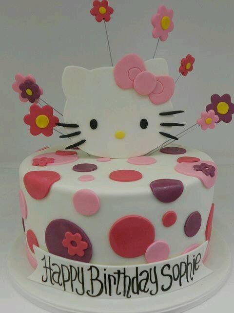 Pin By Yogesh Kardile On Cakes Pinterest Hello Kitty Kitty