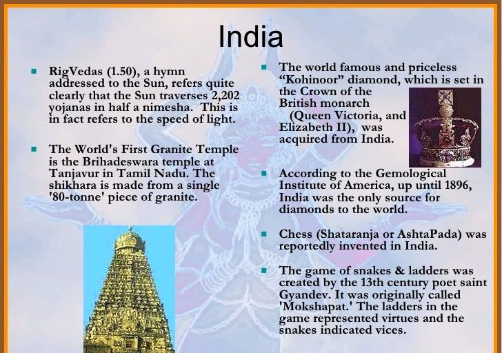India Bharat Hindustan Historical Facts World History Facts