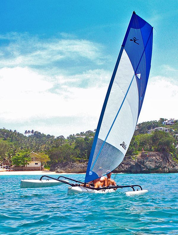 Sailing With Hobie Tandem Island