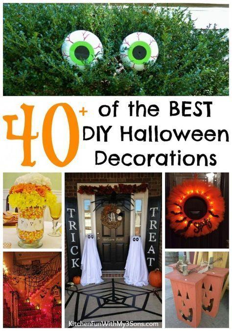 DIY Halloween Decorations #halloween #halloweenparty #halloweendecor - how to decorate for halloween party