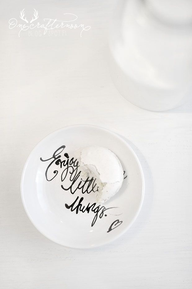 Enjoy little things, like a macaron.