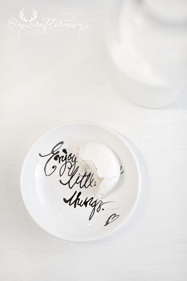 Enjoy little things, like a macaron.