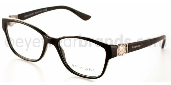 Bvlgari BV 4050 Bvlgari BV4050 501 BLACK New Bvlgari Eyeglasses   2012 Bvlgari Glasses   Worldwide Delivery