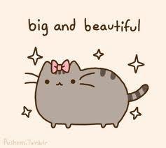Pusheen the Cat (Big and Beautiful) by lele1237.deviantart.com on @DeviantArt