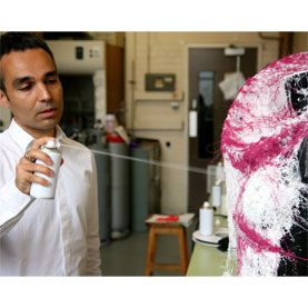 Spray On Clothing Could Deliver A Suit In A Can Video Spray Print Fashion Sustainable Fabrics