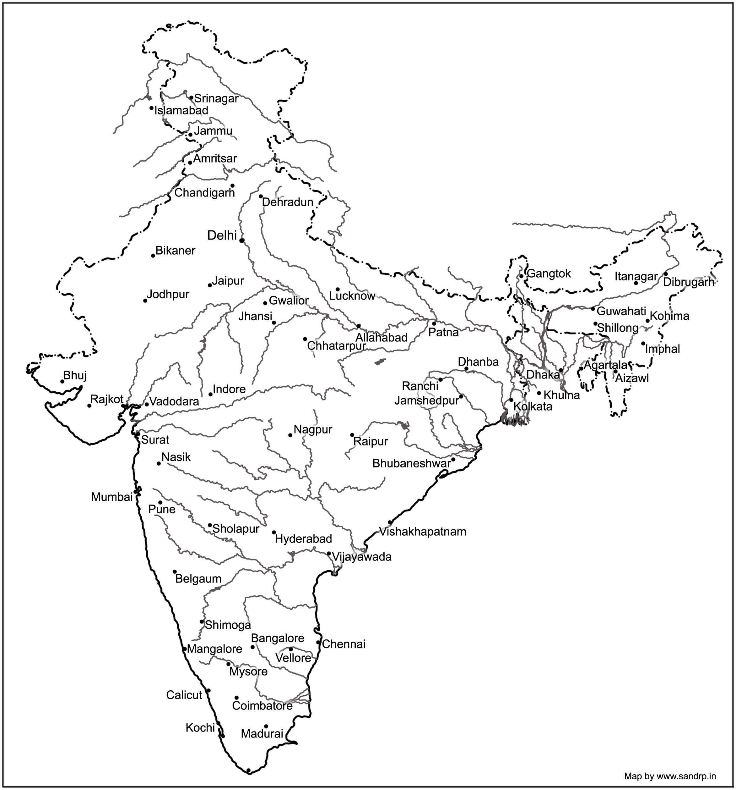 indian river system map Image Result For Indian Rivers Map Map Outline Indian River Map indian river system map