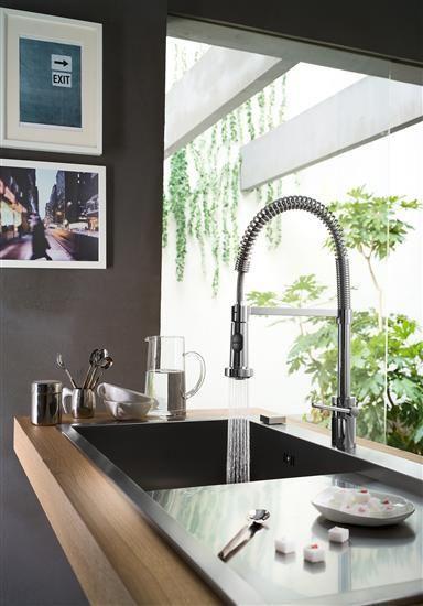 Miscelatore cucina dinamico: Plus di Nobili Rubinetterie | Design#1 ...