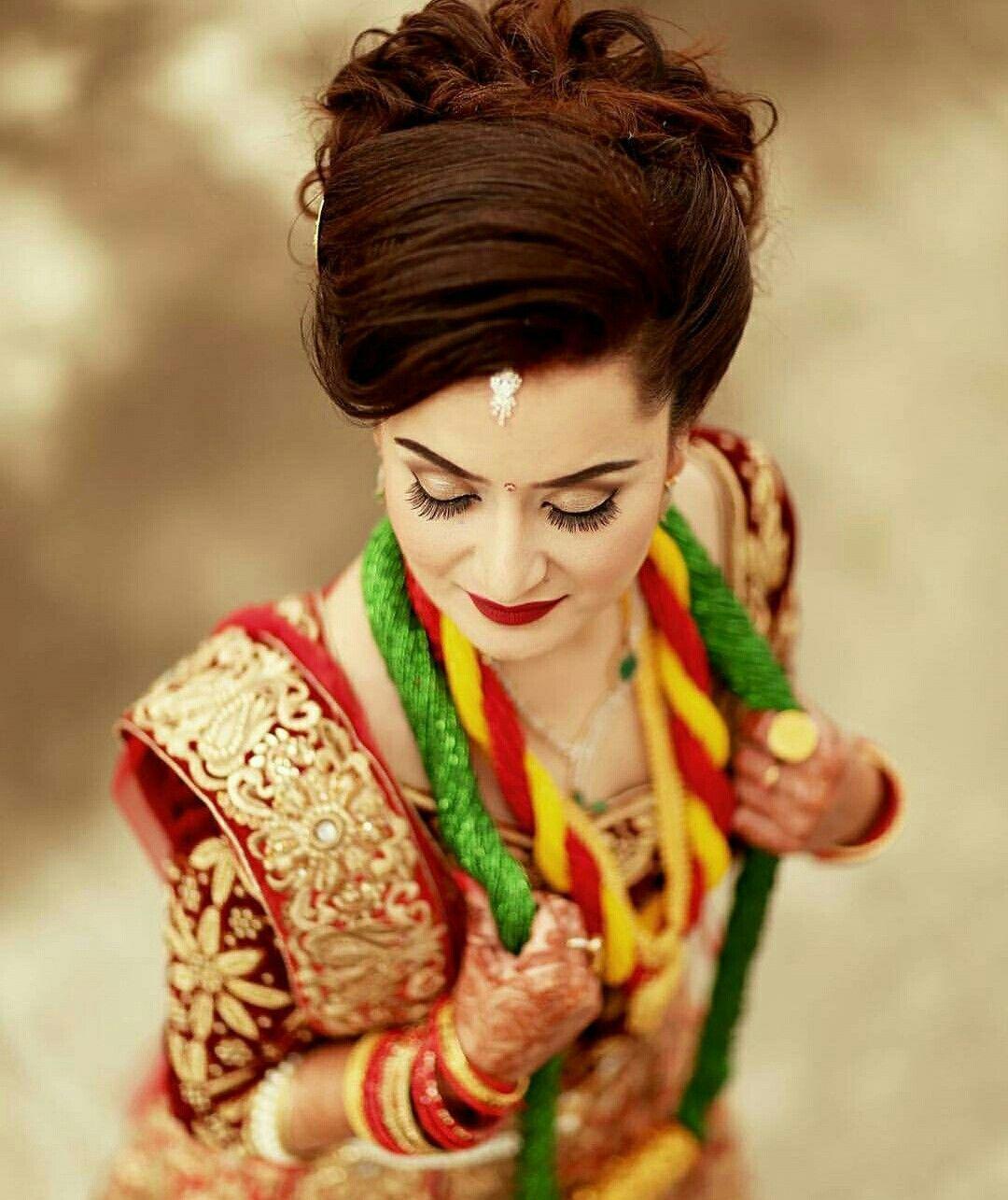 Nepali Wedding Tradition Nepal Marriage Bride Makeup Simple Saree Dress Bridal Photography Desi Beauty Wedding Jewellery Collection