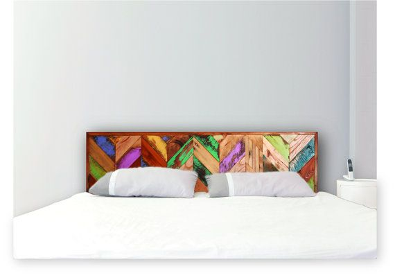 Headboard I Want To Make This With Images Painted Wood Headboard Bedroom Design Wood Headboard