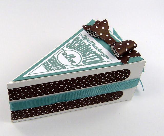 cutie pie tortenst ck thinlits stampin up kuchen geburtstag geschenk. Black Bedroom Furniture Sets. Home Design Ideas