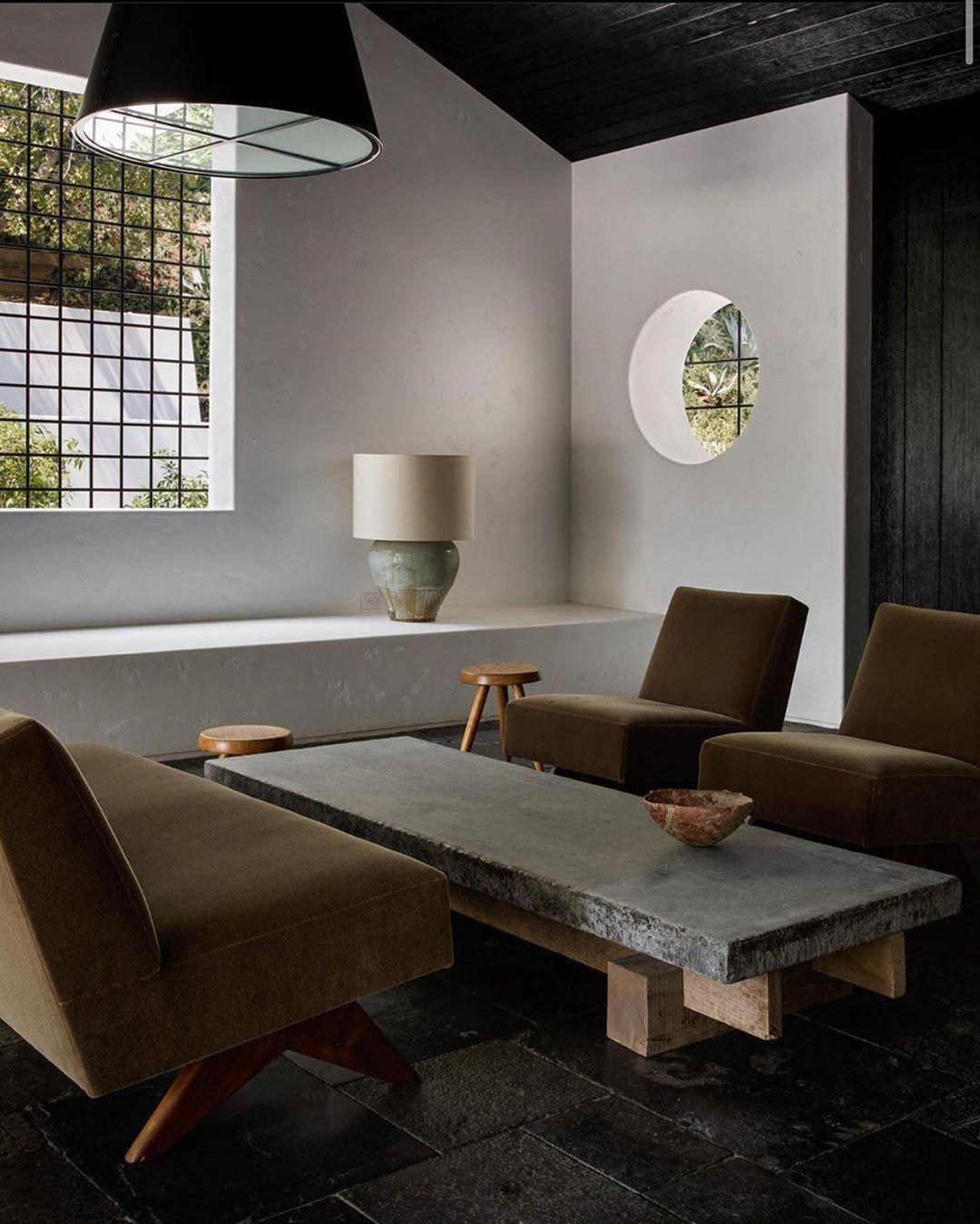 """Marc Costa on Instagram: """"#interiors #interiordesign #design #pierrejeanneret #midcenturymodern #frenchmodernism @trevorcheney_ #architecture #losangeles #homedecor…"""""""
