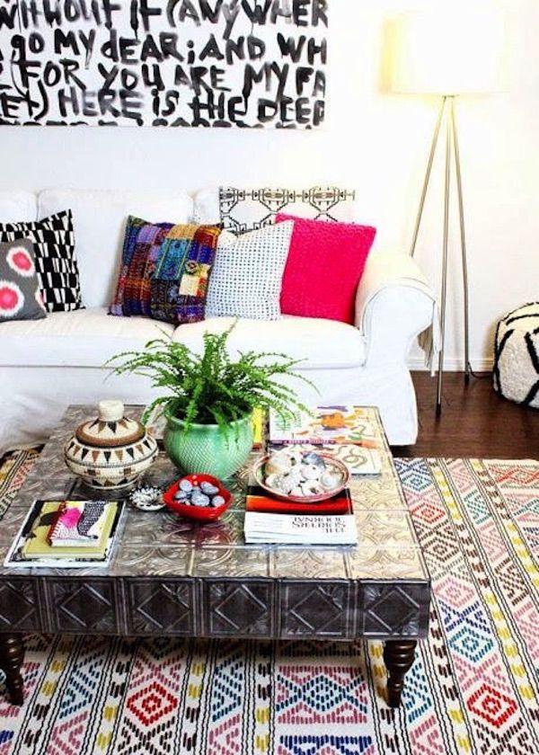 ideas para decorar mesas de centro 18 | Decoración | Pinterest ...