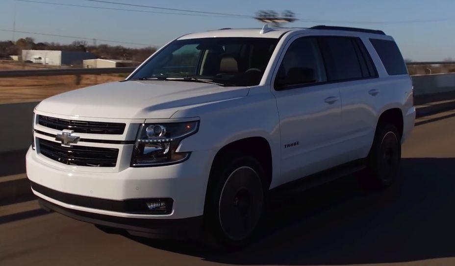 Chevrolet Rst Tahoe 2019 Chevy Tahoe Suburban Luxurysuv Suv
