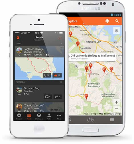 Strava Lets You Track Your Running And Riding With Gps Join