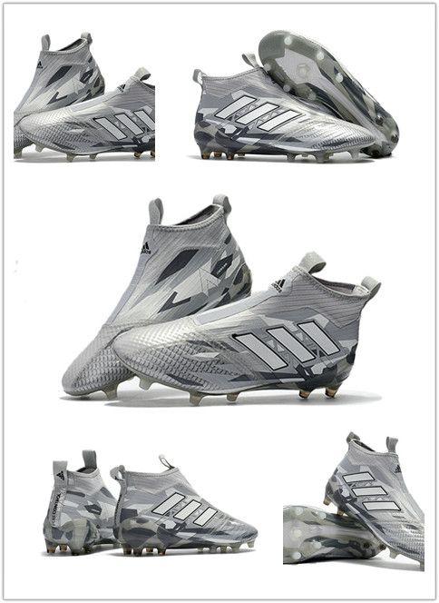 separation shoes 3a198 fb903 adidas Ace17+ Purecontrol FG -Gris Blanc Noir Style de Jeu Milieu de  Terrain - Défenseur Type de terrain Sec (FG) Sous-Catégories Chaussures  Modèle Ace