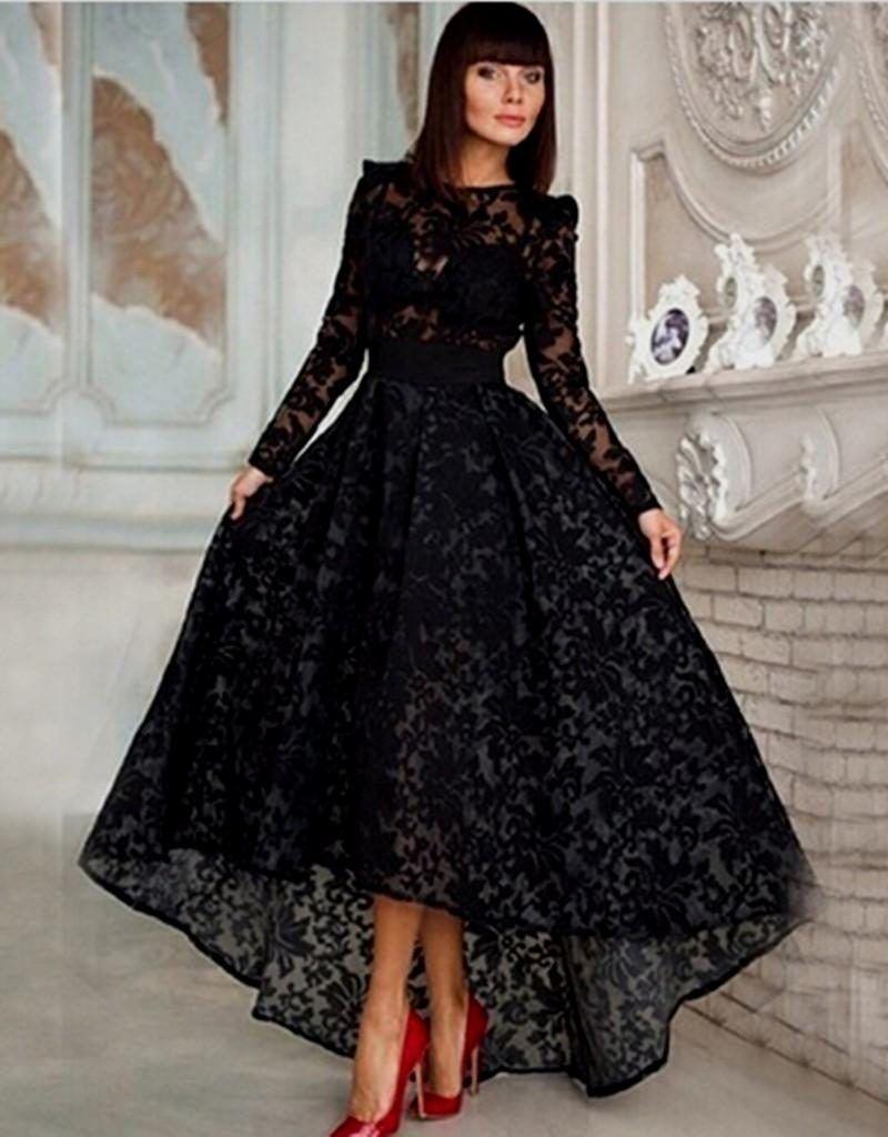 Black lace prom dresses vintage pdressesblack