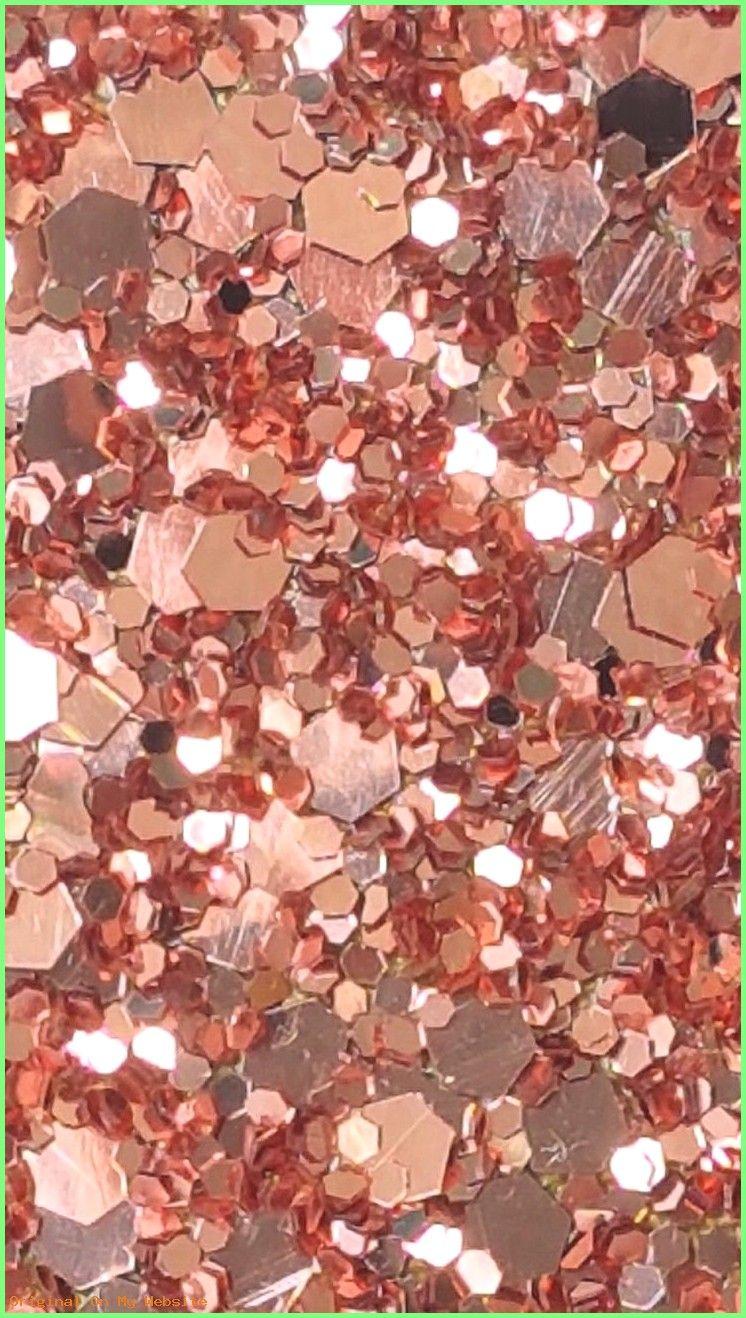 Wallpaper Iphone Aesthetic Rose Gold Glitter Wallpaper