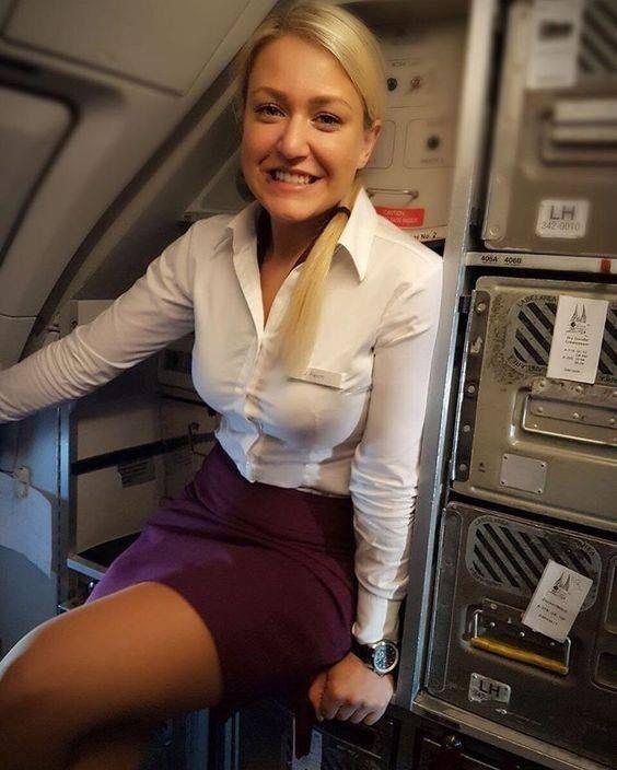 Hot Sale Cabin Crew Airline Airasia Uniform For Hot Air Hostess Women Photo