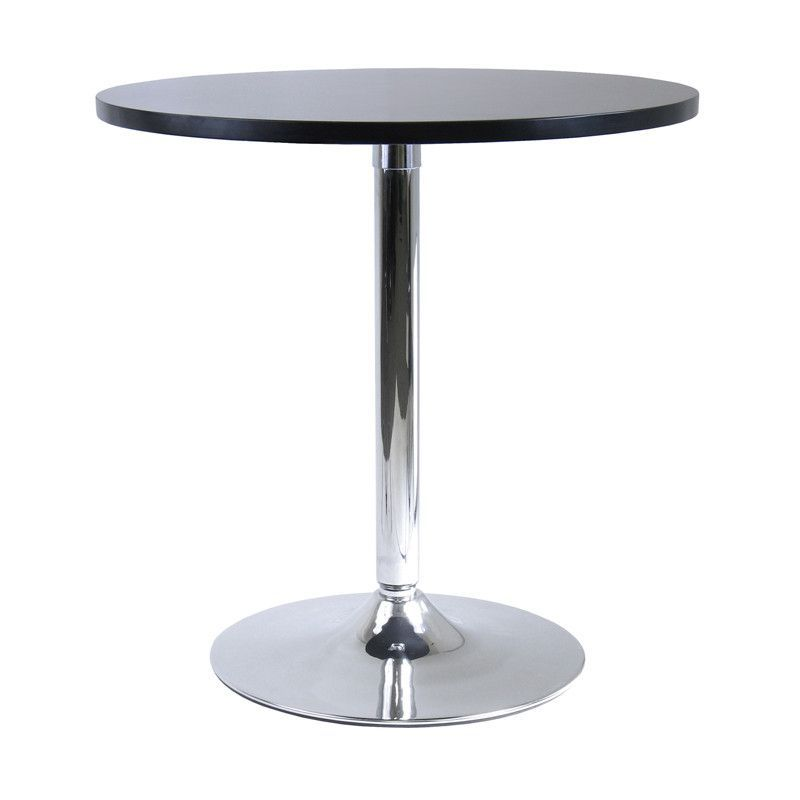 Winsome Wood 93729 Spectrum 29 Round Dinning Table With Metal Leg