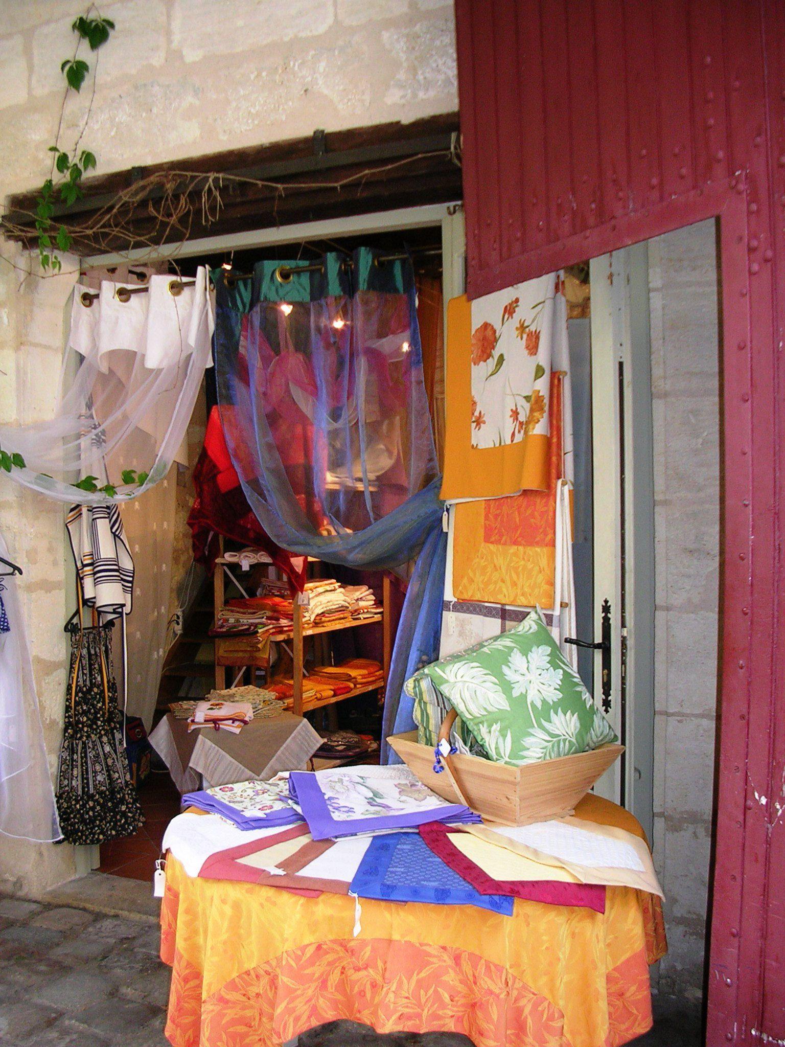 Saint Emilion France shopping