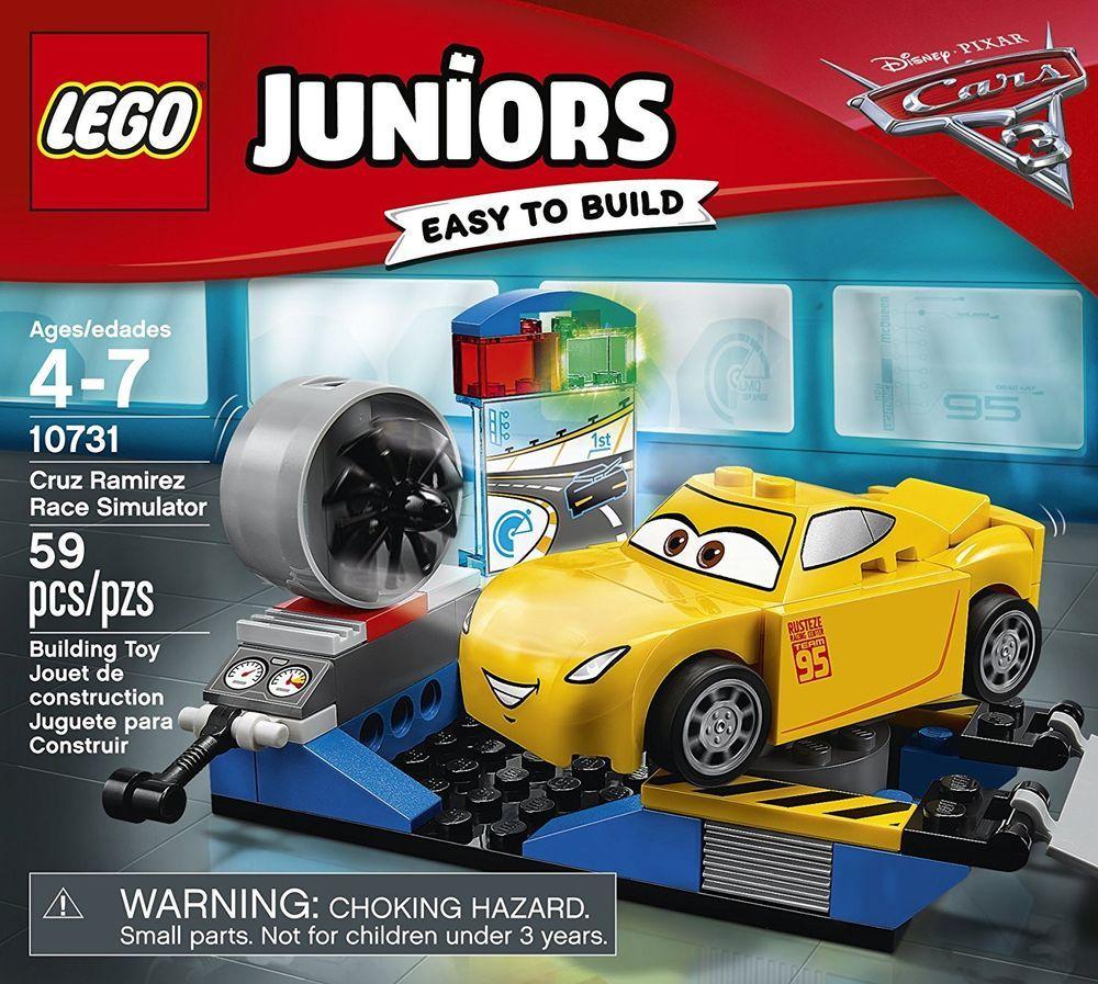 LEGO Juniors Cruz Ramirez Race Simulator 10731 Building