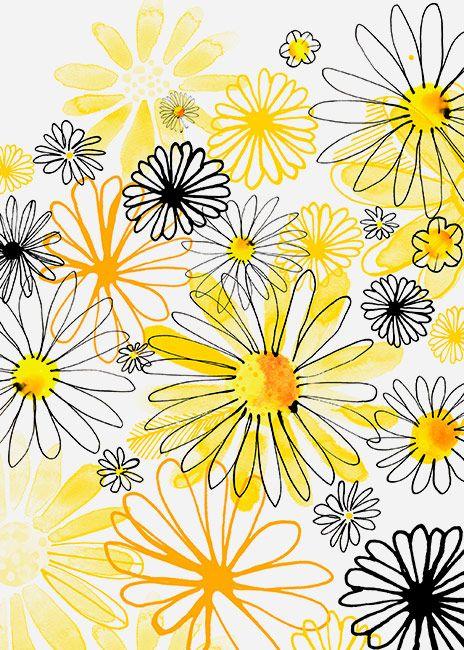 Magrikie : Illustration  : everyday florals / plants