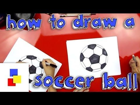 How To Draw A Soccer Ball Art For Kids Hub Soccer Ball Art For Kids Hub Soccer