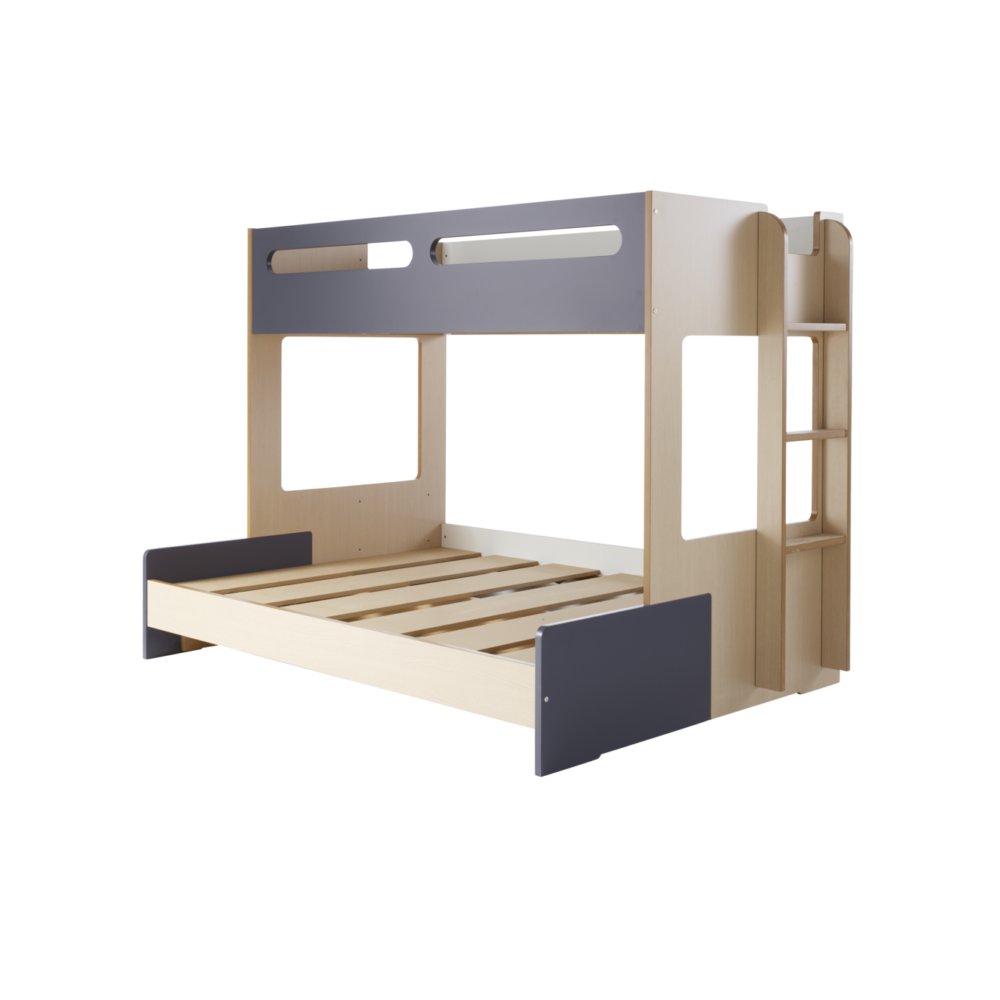 Snooze Bunk Beds Charlie Combo Bunk Frame Beach House Kids Bedroom Furniture