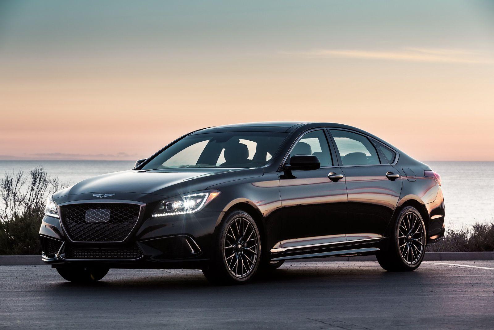 How Does Genesis' New 2018 G80 Sport Look In Black