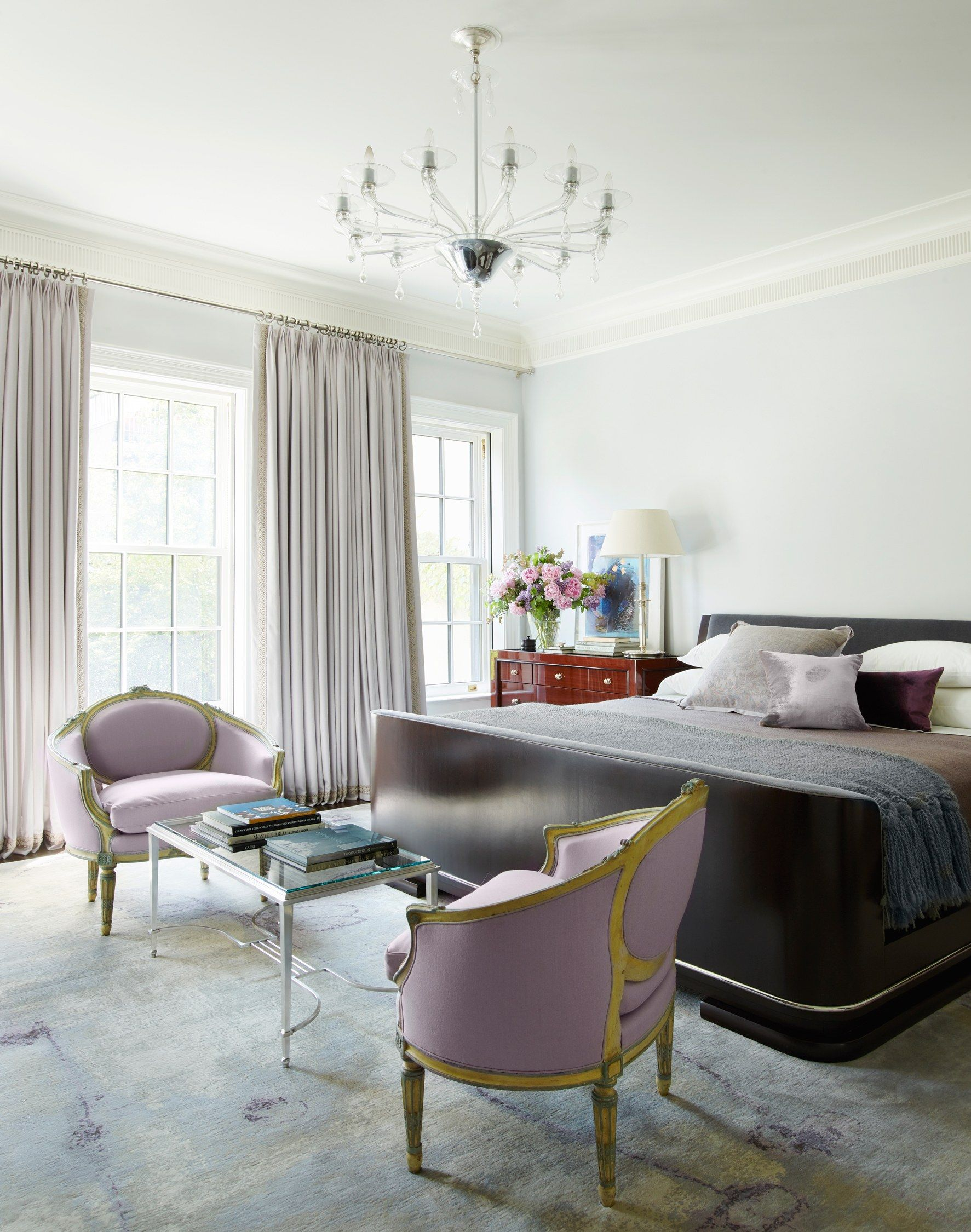 An Elegant New York Townhouse Is Reborn New York Townhouse Eclectic Bedroom Bedroom Interior