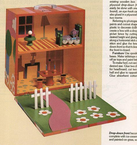 Portable Dollhouse By Tofutti Break, Via Flickr