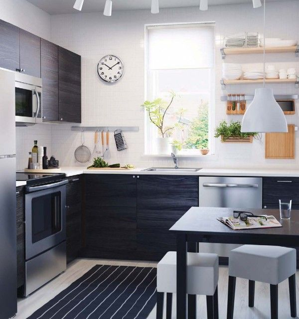 New Home Designs Latest Modern Home Kitchen Cabinet: Home Designing — (via IKEA 2016 Catalog)