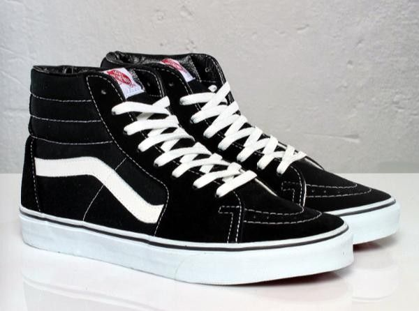 vans shoes black high tops