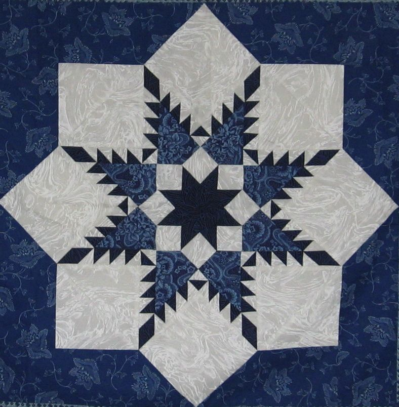 Swept Off My Feet…by Fabric   Feathers, Fabrics and Star quilts : feathered star quilts - Adamdwight.com