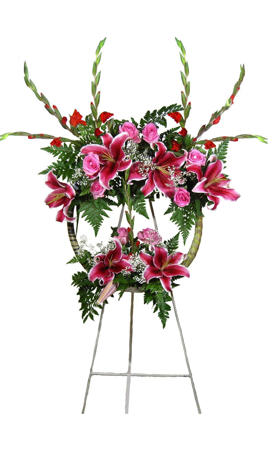 A stunning display of strength this bold bright pink lilies with flower izmirmasajfo
