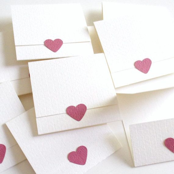 assorted matchbook notepads Set of 6 square handmade matchbooks