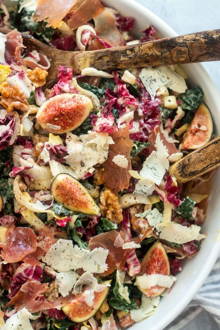 Photo of Kale Salad With Prosciutto And Figs – Giadzy