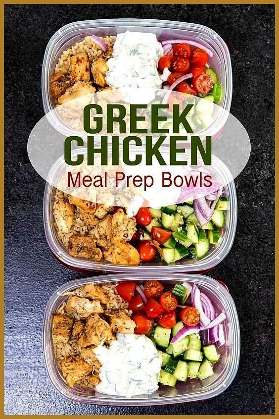#vorbereitung #griechische #mahlzeit #desserts #chicken #einfach #rezepte #fitness #rezept #bowls #r...