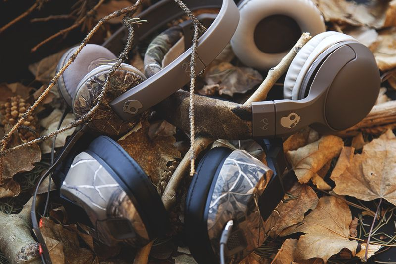 blend in stand out skullcandy x realtree xtra audio on uninsulated camo overalls for men id=19369